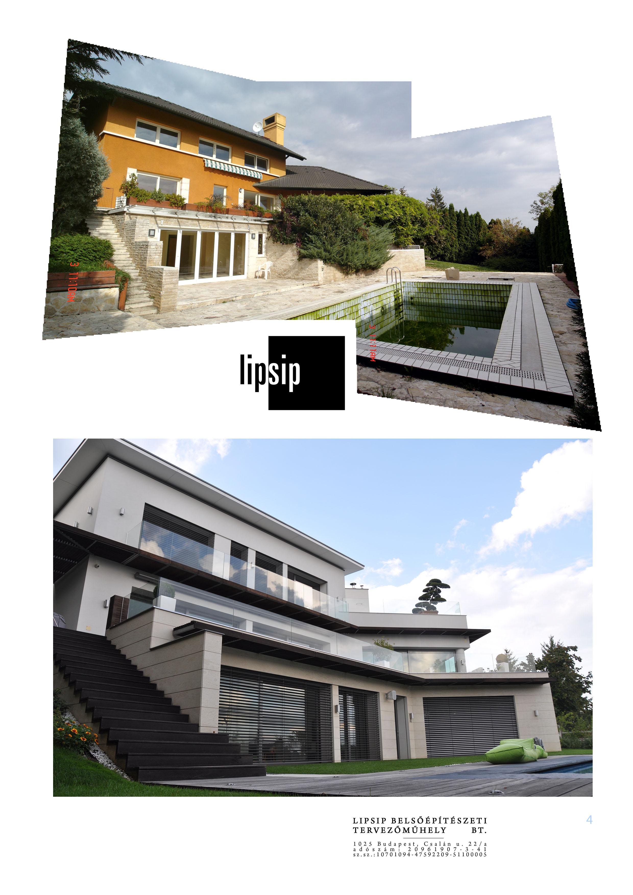 Családi ház belsőépítész