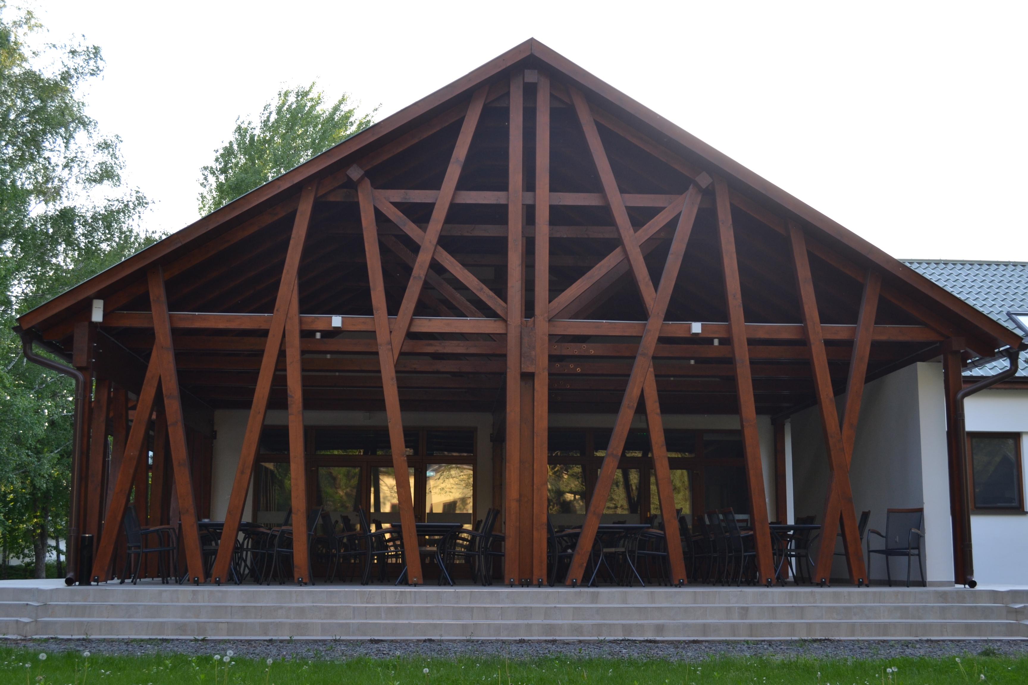 Gemenc Erdészeti Erdei Iskola belsőépítészet