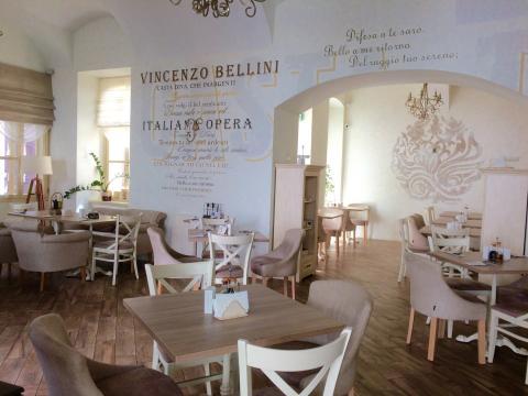 Lenck Étterem belsőépítészet